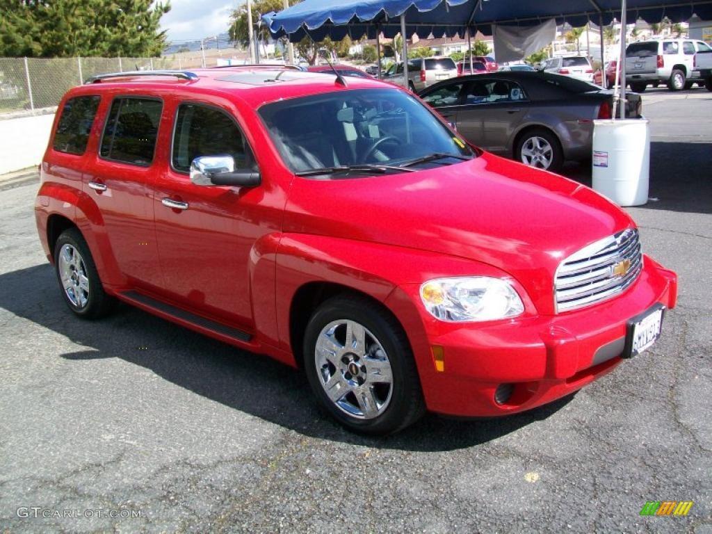 Victory Red 2011 Chevrolet Hhr Lt Exterior Photo 45401566 Gtcarlot Com
