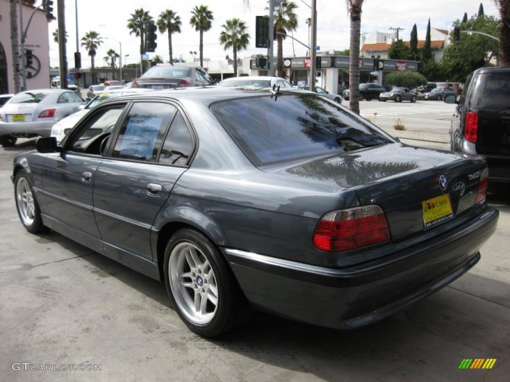 stratus metallic 2001 bmw 7 series 740i sedan exterior. Black Bedroom Furniture Sets. Home Design Ideas