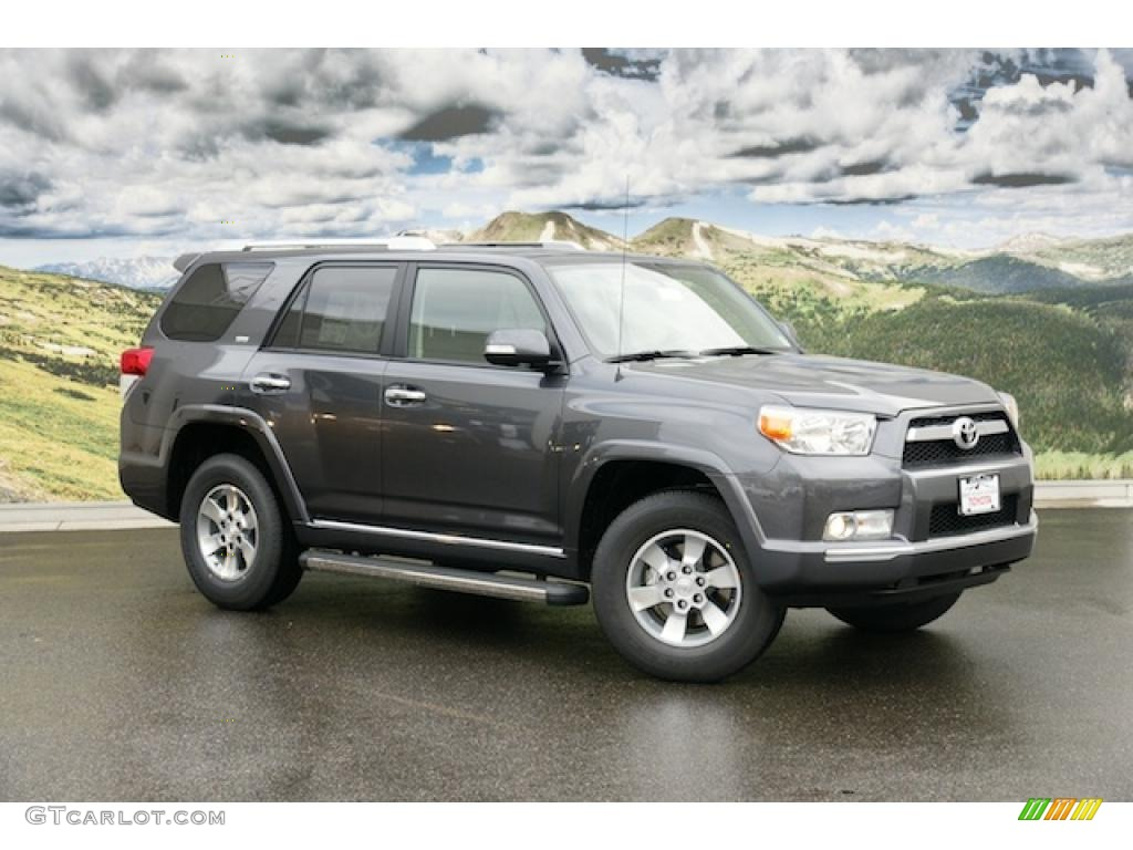 2011 magnetic gray metallic toyota 4runner sr5 4x4 45393612 car color galleries. Black Bedroom Furniture Sets. Home Design Ideas