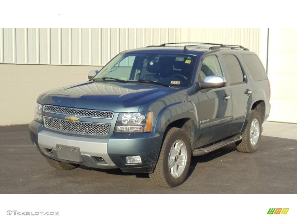 Blue Granite Metallic Chevrolet Tahoe Z71 4x4