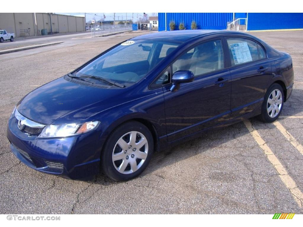 Royal Blue Pearl Honda Civic