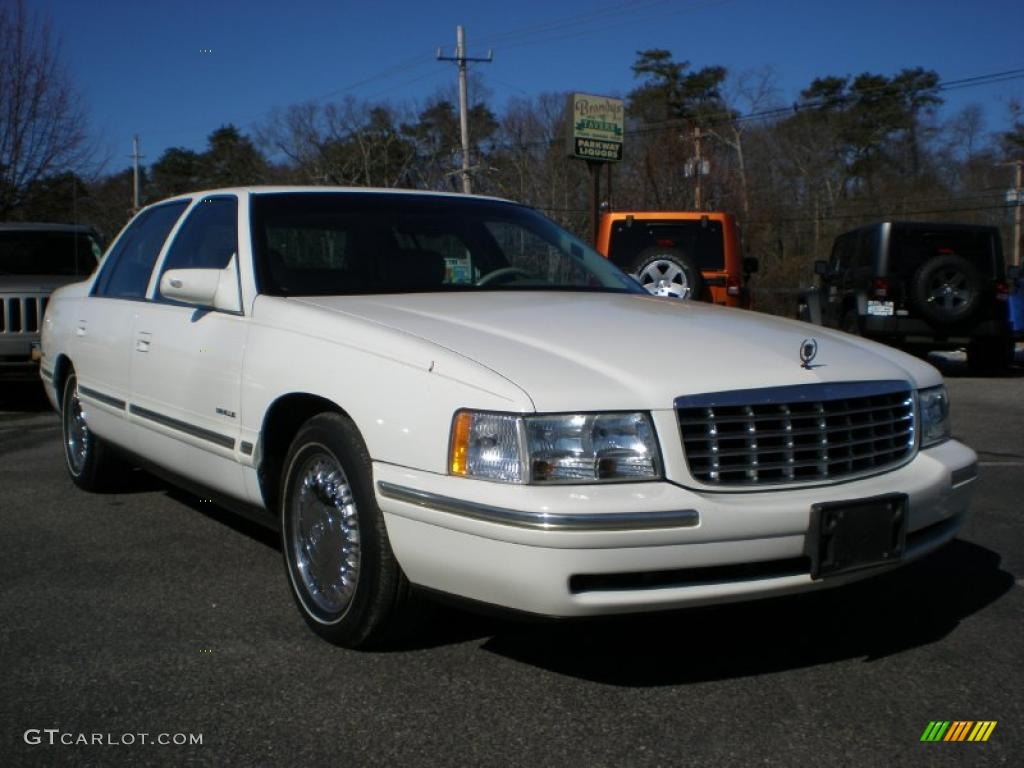 white 1997 cadillac deville d 39 elegance exterior photo. Black Bedroom Furniture Sets. Home Design Ideas