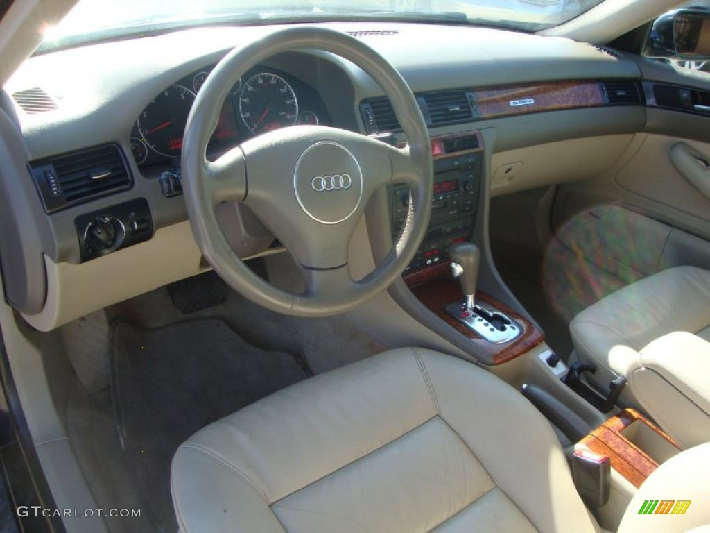 Beige Interior 2003 Audi A6 2 7t Quattro Sedan Photo