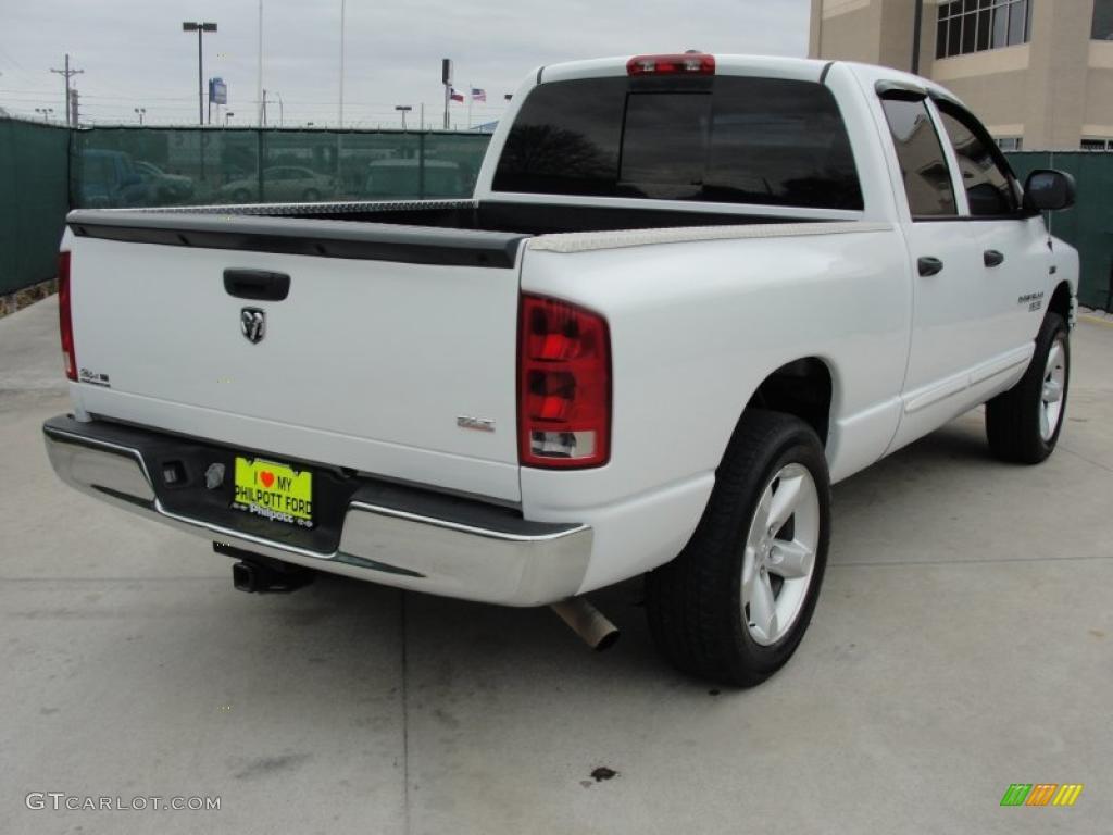 Bright White 2006 Dodge Ram 1500 SLT Lone Star Edition ...