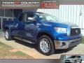 2008 Blue Streak Metallic Toyota Tundra SR5 Double Cab  photo #1