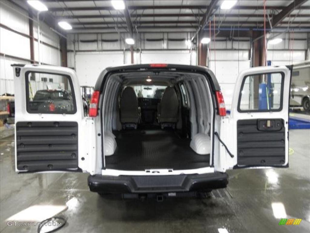 2011 gmc savana van 2500 extended cargo interior photo 45429863