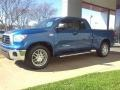 2008 Blue Streak Metallic Toyota Tundra SR5 Double Cab  photo #18