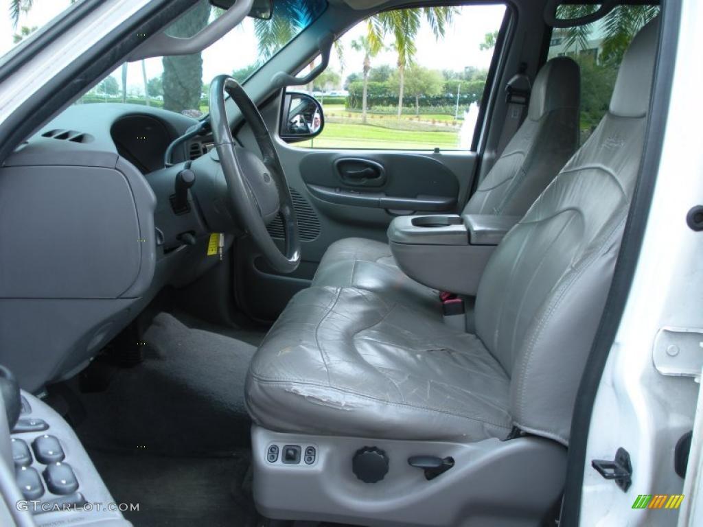 2001 Ford F150 Lariat SuperCrew 4x4 interior Photo ...