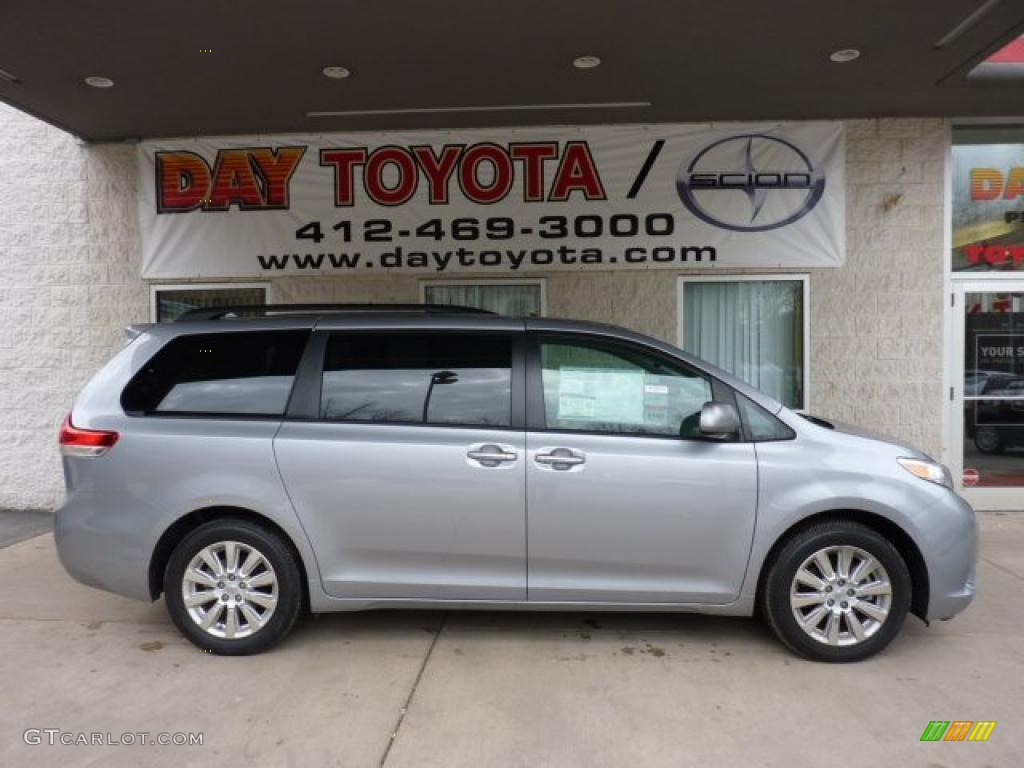 2011 Sienna Limited AWD - Silver Sky Metallic / Bisque photo #1