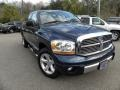 2006 Patriot Blue Pearl Dodge Ram 1500 Laramie Quad Cab  photo #1