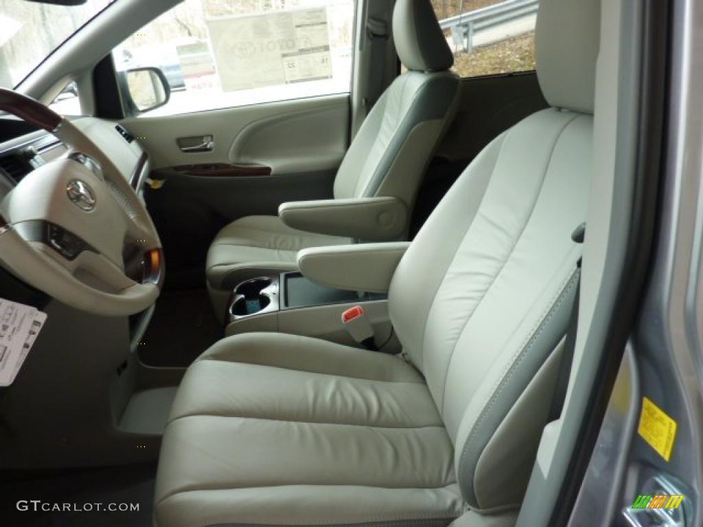 Bisque Interior 2011 Toyota Sienna Limited Awd Photo