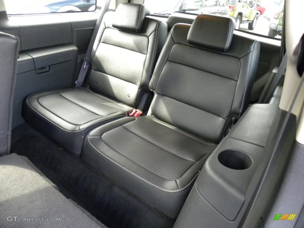 charcoal black interior 2010 ford flex sel photo 45439621. Black Bedroom Furniture Sets. Home Design Ideas