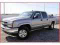2006 Graystone Metallic Chevrolet Silverado 1500 Z71 Crew Cab 4x4  photo #1