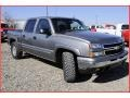 2006 Graystone Metallic Chevrolet Silverado 1500 Z71 Crew Cab 4x4  photo #9