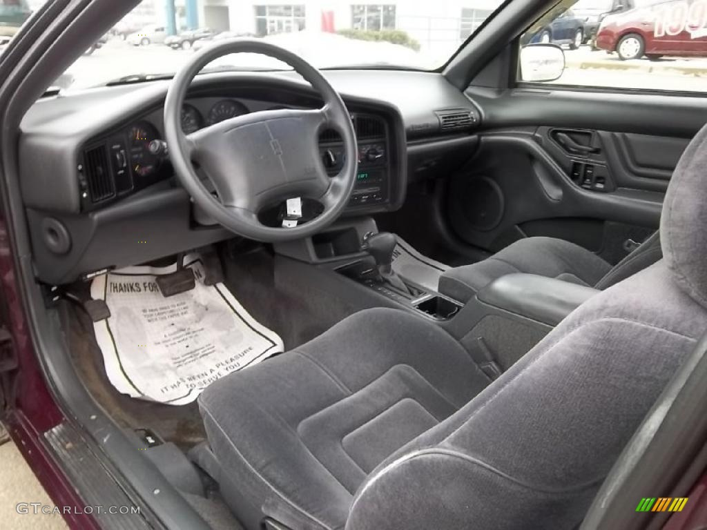Dark gray interior 1995 oldsmobile achieva s coupe photo 45445771