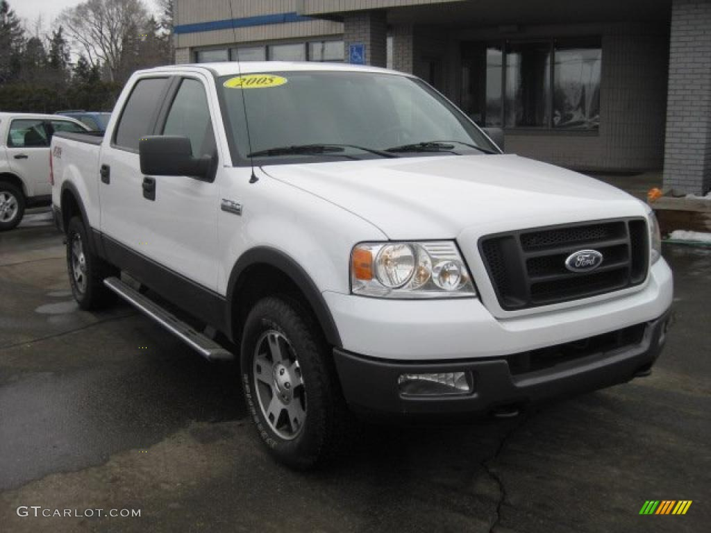 2005 f150 fx4 roush stage 1 supercrew 4x4 oxford white medium flint dark