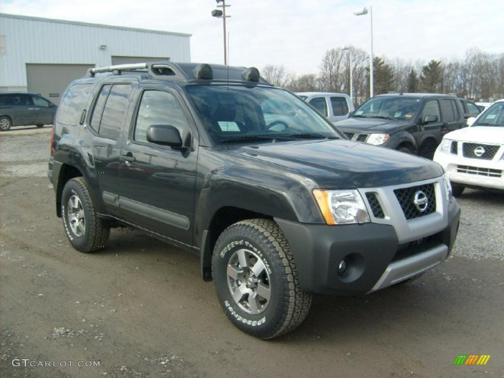 Night Armor 2011 Nissan Xterra Pro 4x 4x4 Exterior Photo