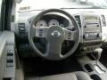 2011 Nissan Xterra Pro 4X Gray Leather Interior Steering Wheel Photo