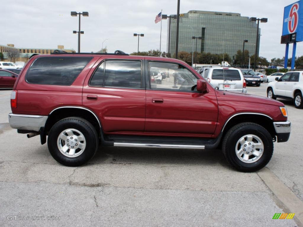 sunfire red pearl 1998 toyota 4runner sr5 4x4 exterior. Black Bedroom Furniture Sets. Home Design Ideas