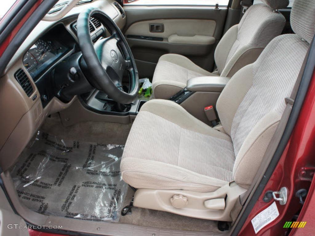 Oak Interior 1998 Toyota 4runner Sr5 4x4 Photo 45462354