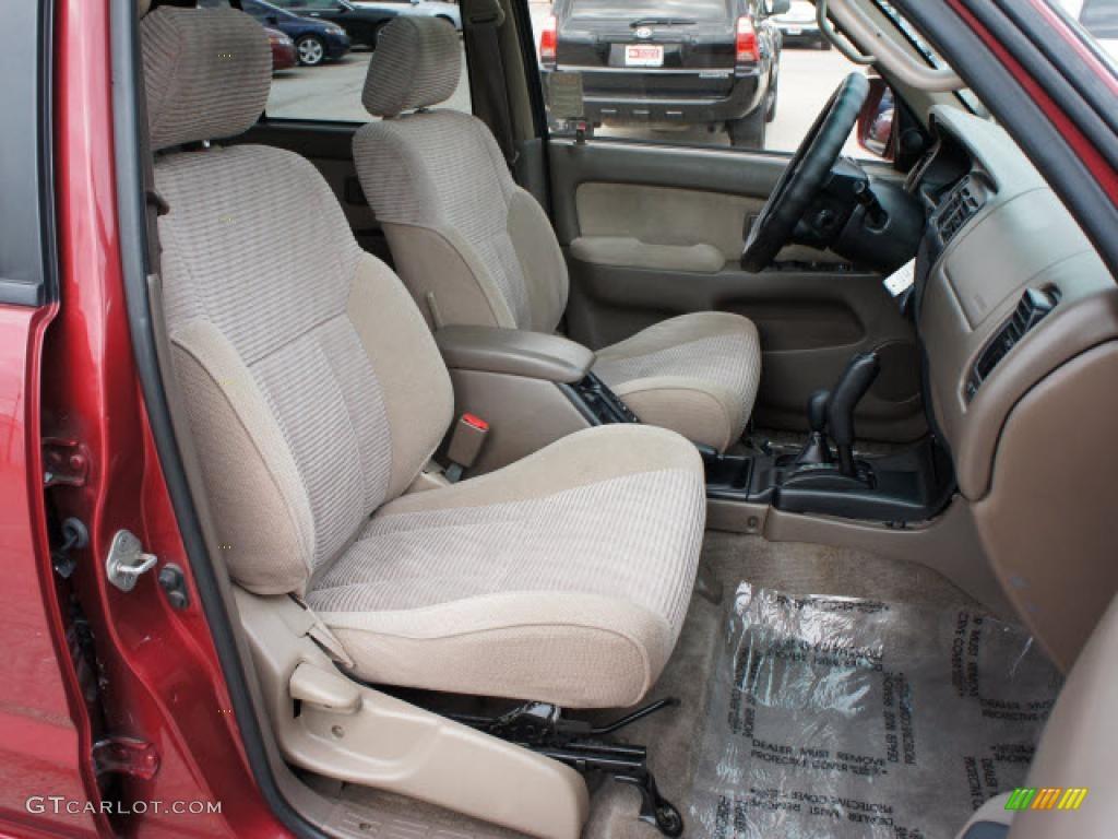 Oak Interior 1998 Toyota 4runner Sr5 4x4 Photo 45462744
