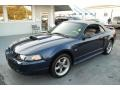 True Blue Metallic 2002 Ford Mustang Gallery