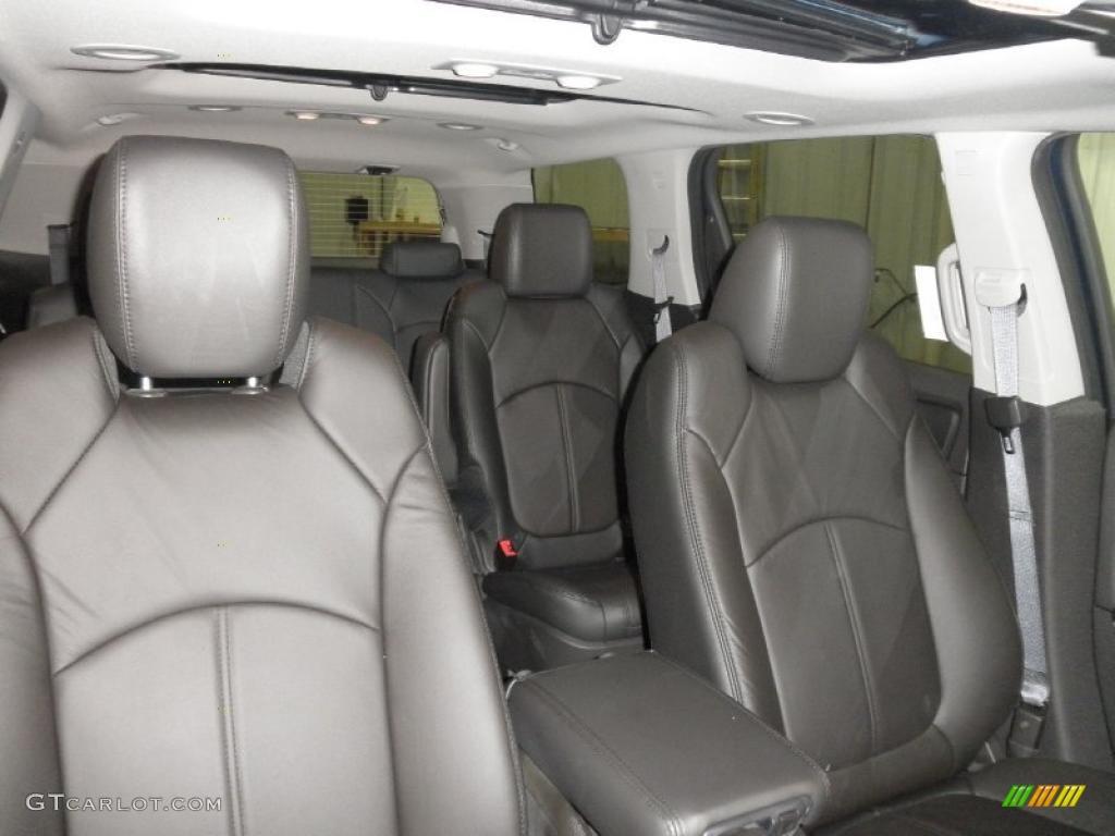 ebony interior 2011 gmc acadia slt awd photo 45472408. Black Bedroom Furniture Sets. Home Design Ideas