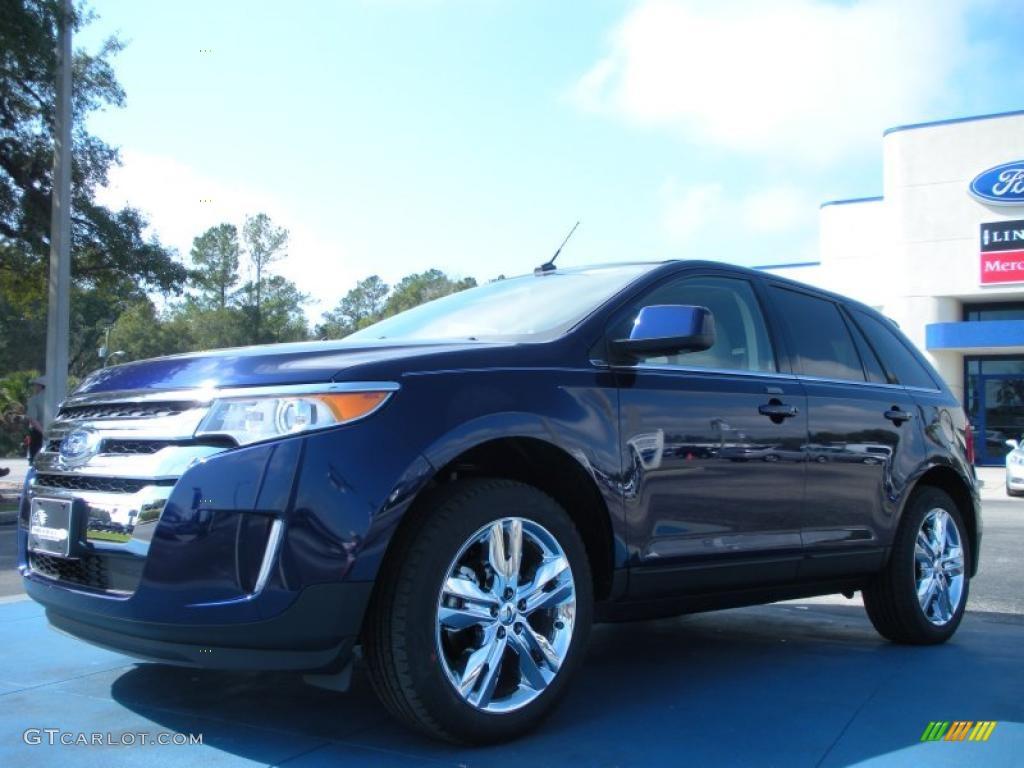 2011 Kona Blue Metallic Ford Edge Limited 45449390 Photo