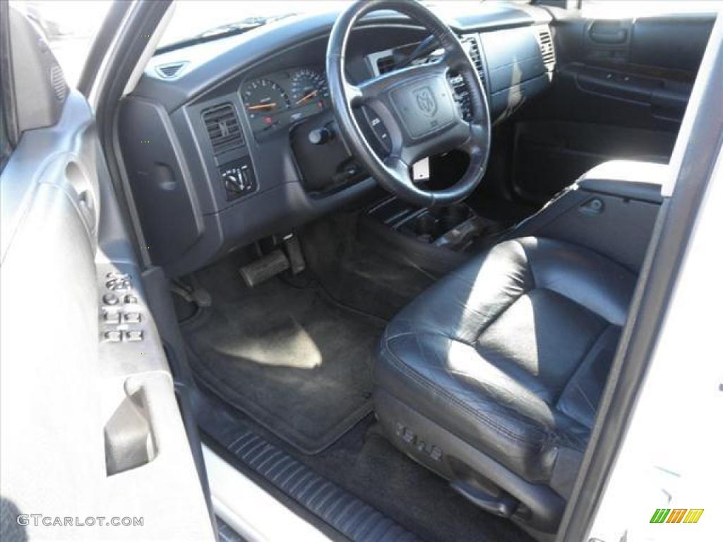 2001 dodge durango slt interior