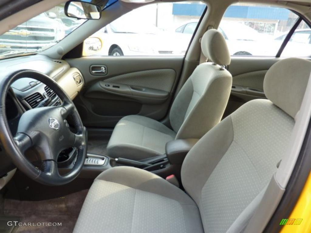 Sand Beige Interior 2003 Nissan Sentra Se R Photo