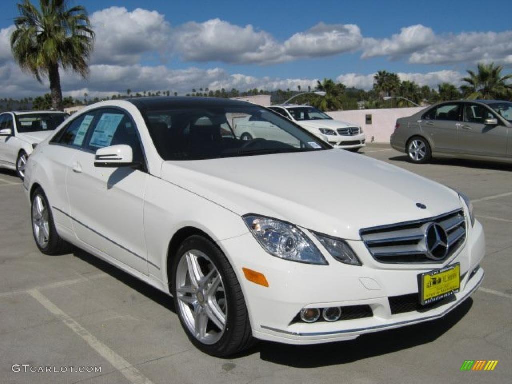 2011 arctic white mercedes benz e 350 coupe 45449494 for Mercedes benz polar white paint