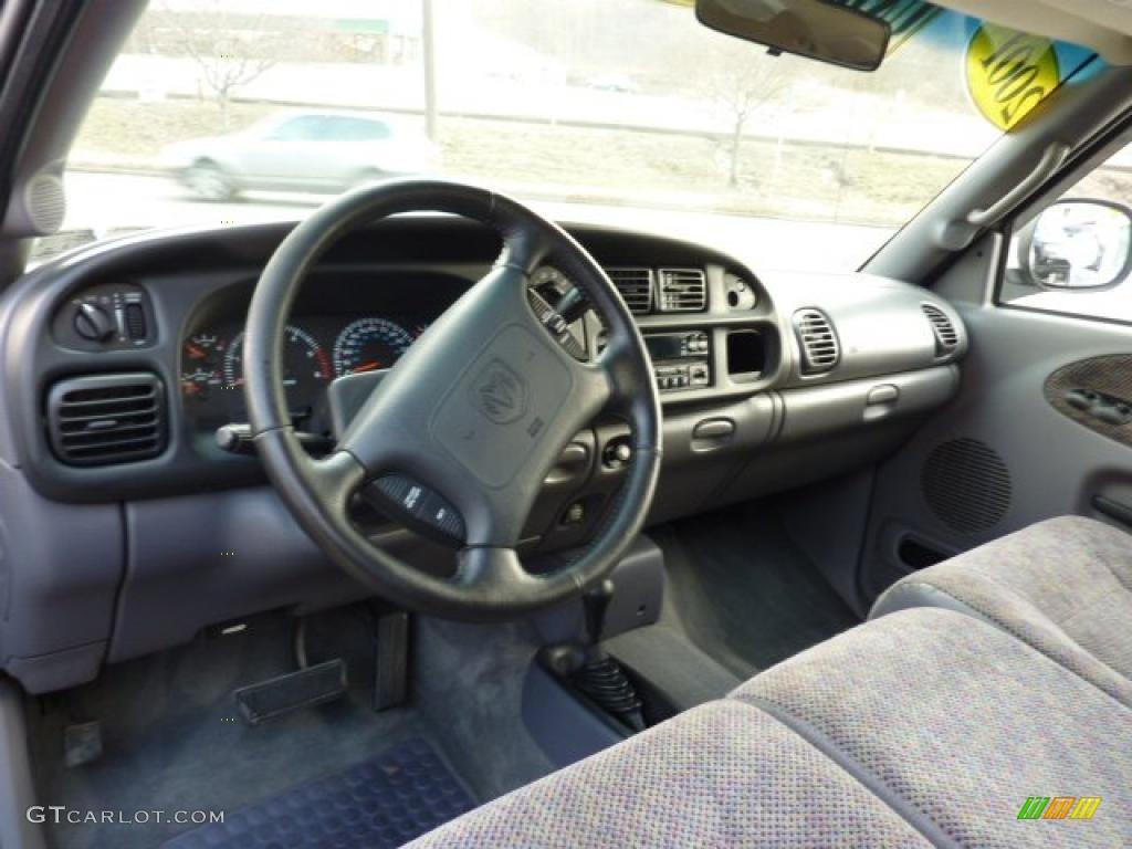 Mist Gray Interior 2001 Dodge Ram 1500 Slt Club Cab 4x4 Photo 45501111