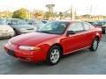 Bright Red - Alero GL Coupe Photo No. 4