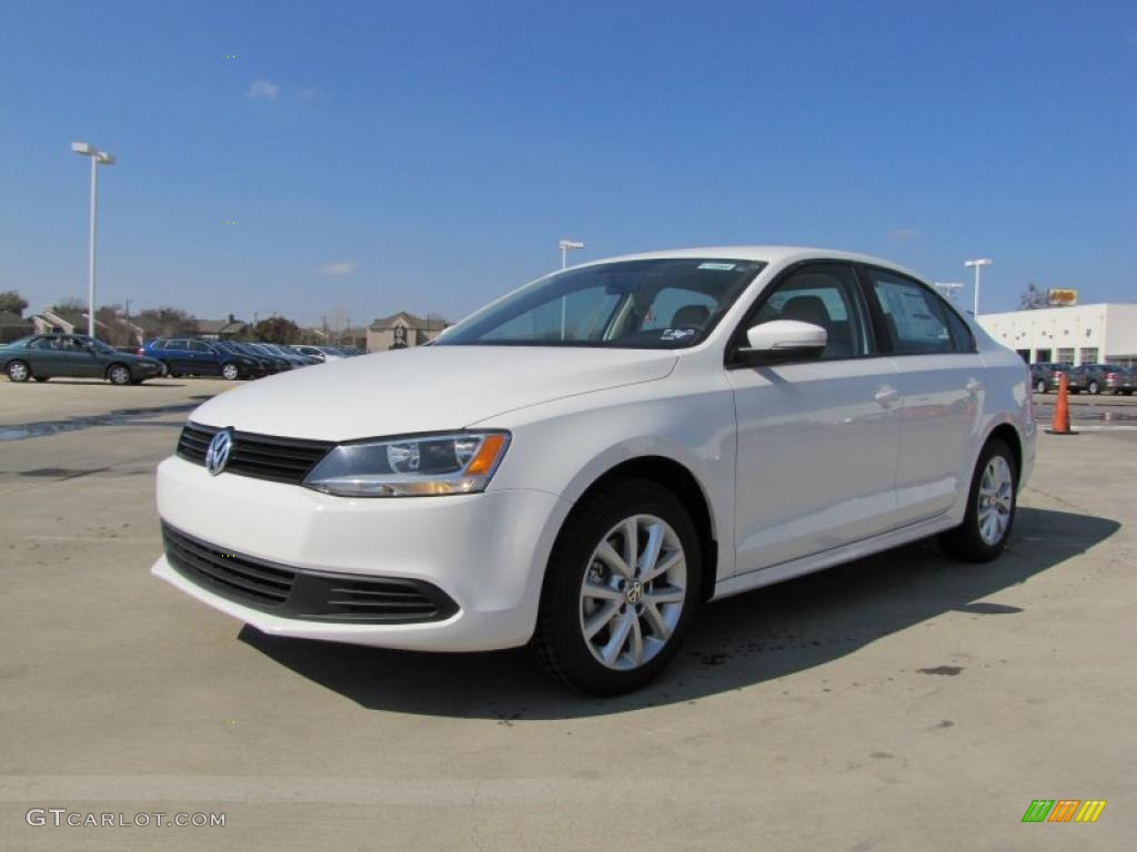 candy white 2011 volkswagen jetta se sedan exterior photo. Black Bedroom Furniture Sets. Home Design Ideas