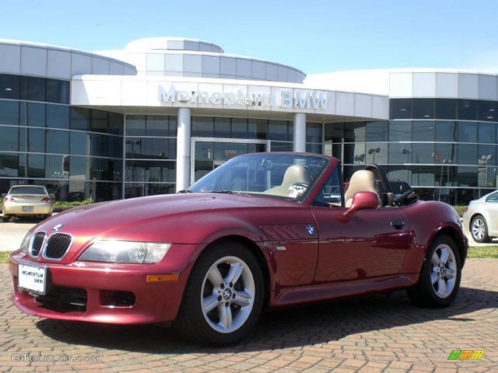 2000 Siena Red Metallic Bmw Z3 2 3 Roadster 4544488