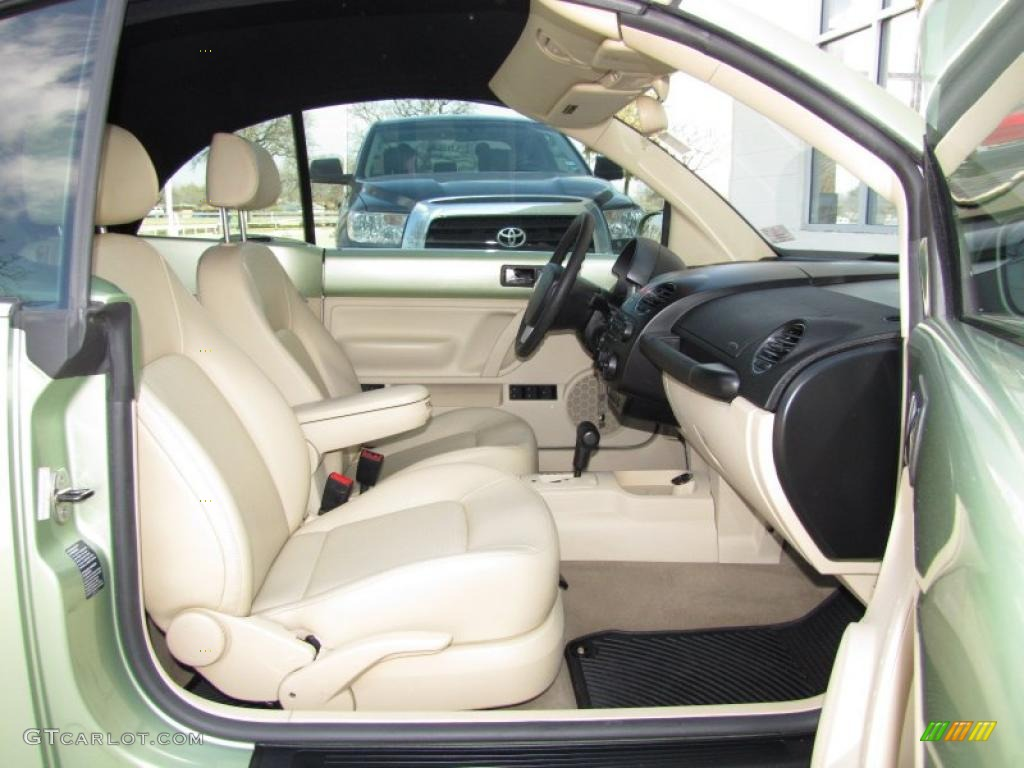 Cream Interior 2007 Volkswagen New Beetle 2 5 Convertible Photo 45504907