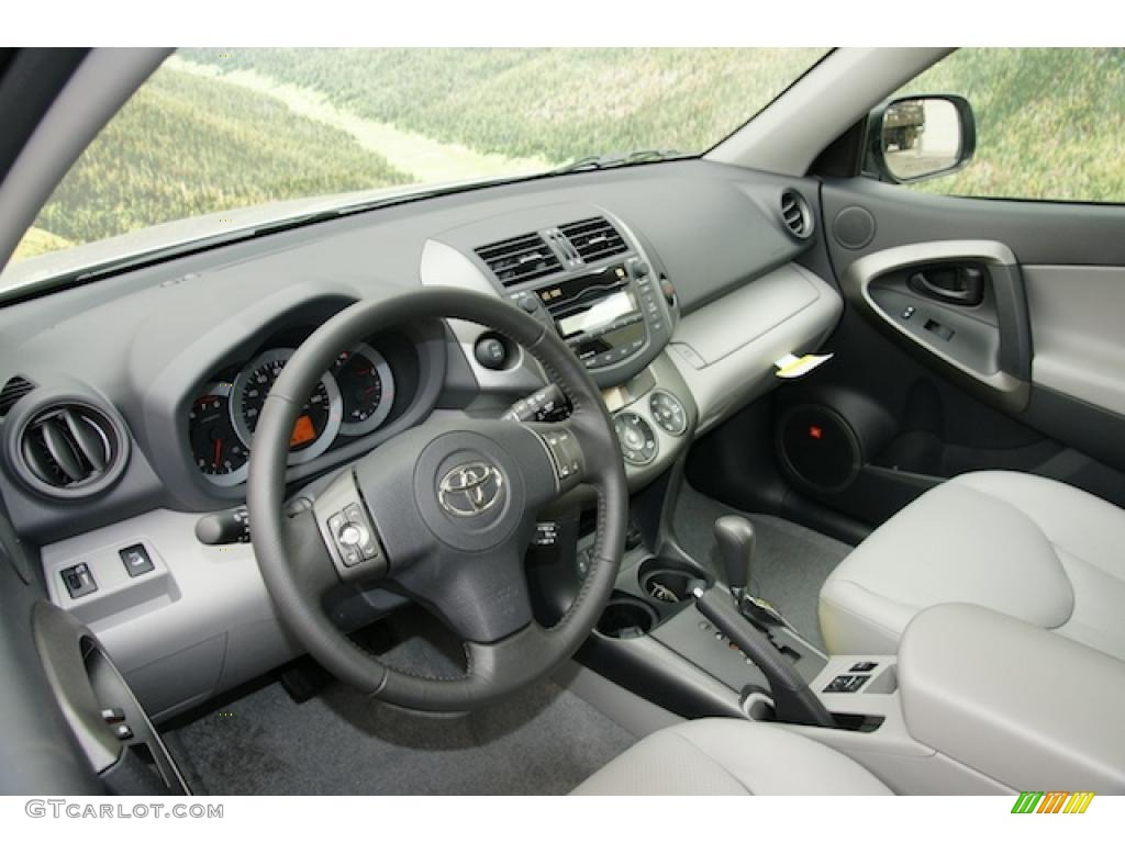 ash interior 2011 toyota rav4 v6 limited 4wd photo 45511966. Black Bedroom Furniture Sets. Home Design Ideas