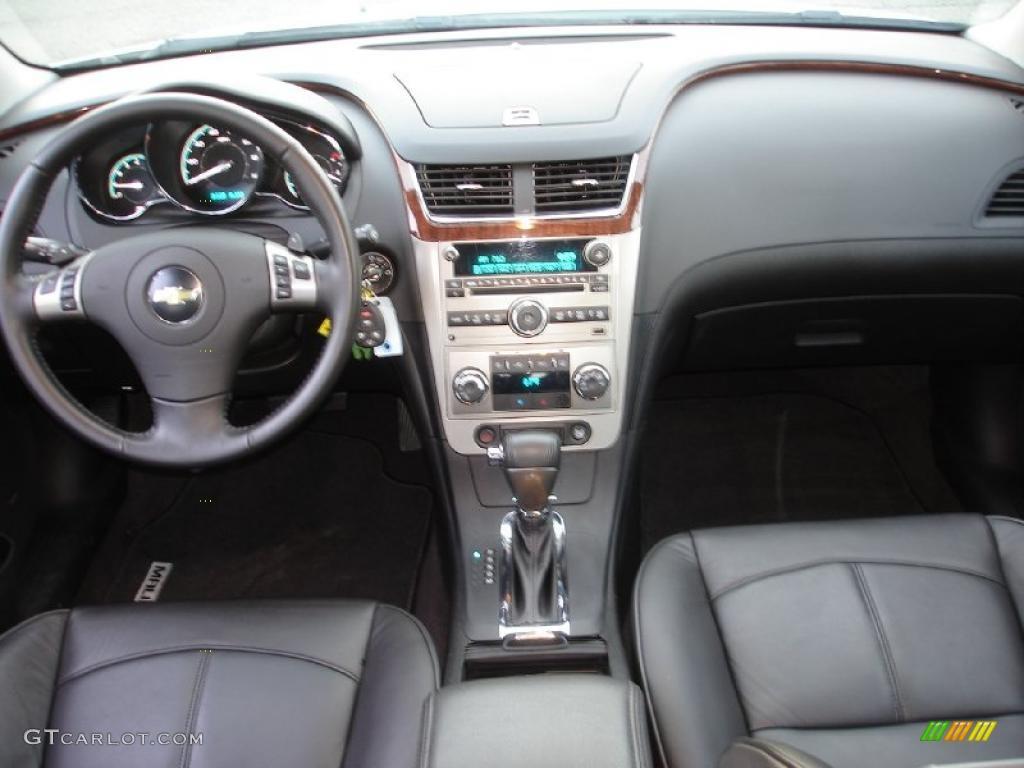 2010 Chevrolet Malibu Ltz Sedan Ebony Dashboard Photo 45521424