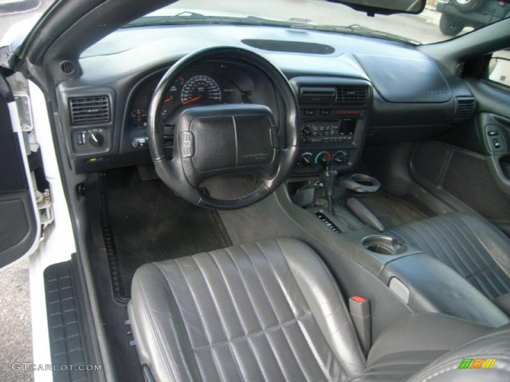 Dark gray interior 1999 chevrolet camaro z28 coupe photo for Dark grey interior