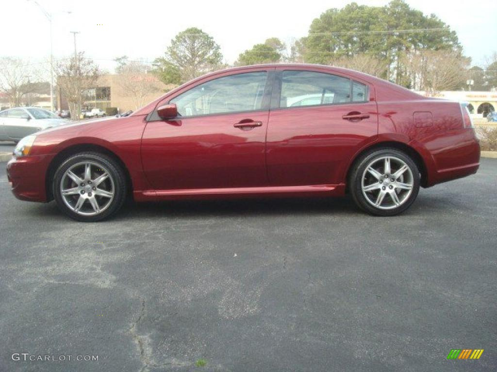Ultra Red Pearl 2007 Mitsubishi Galant Ralliart Exterior Photo 45534569 Gtcarlot Com