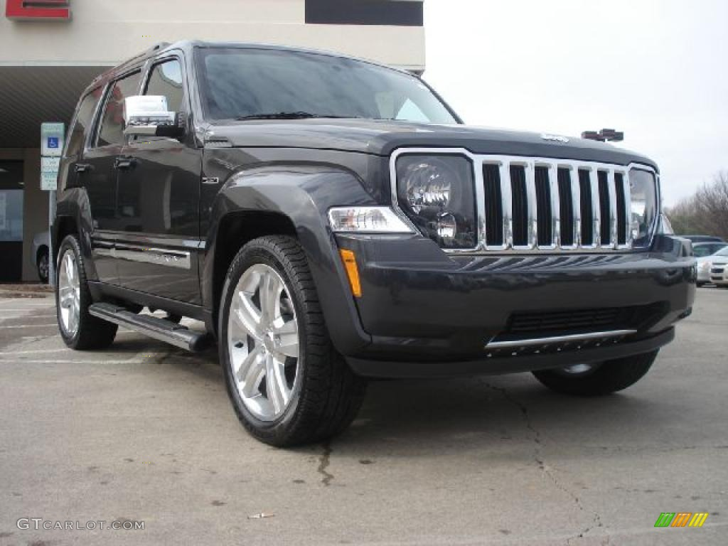 2011 Liberty Jet Limited 4x4   Dark Charcoal Pearl / Dark Slate Gray Photo  #1