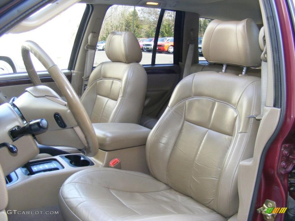 2002 jeep grand cherokee limited 4x4 interior photo 45550485. Black Bedroom Furniture Sets. Home Design Ideas