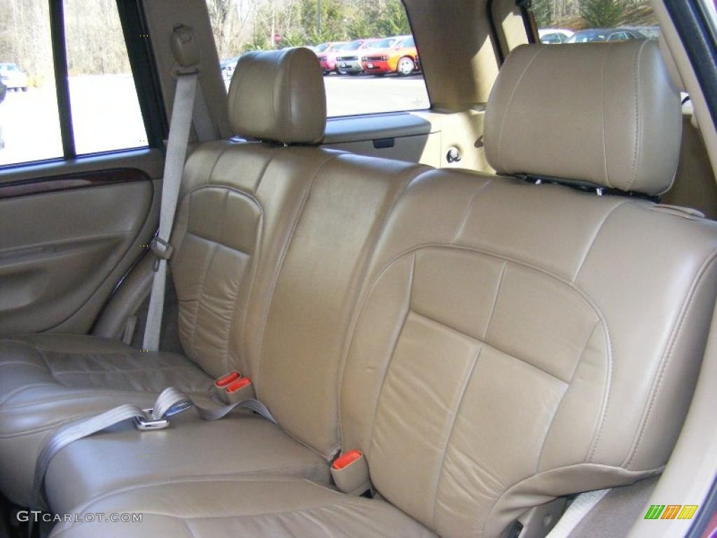 sandstone interior 2002 jeep grand cherokee limited 4x4 photo 45550513. Black Bedroom Furniture Sets. Home Design Ideas