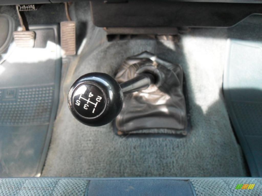 1993 GMC Sonoma SLE Regular Cab 5 Speed Manual Transmission Photo #45551765
