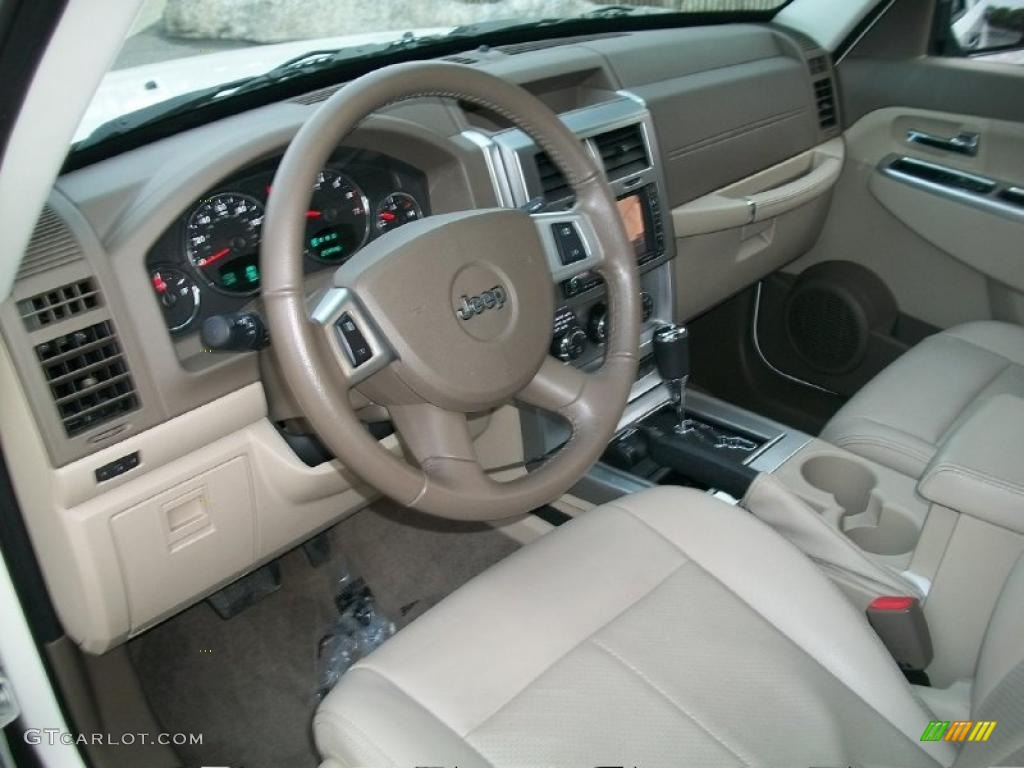 Pastel pebble beige mckinley leather interior 2009 jeep 2004 jeep liberty interior accessories