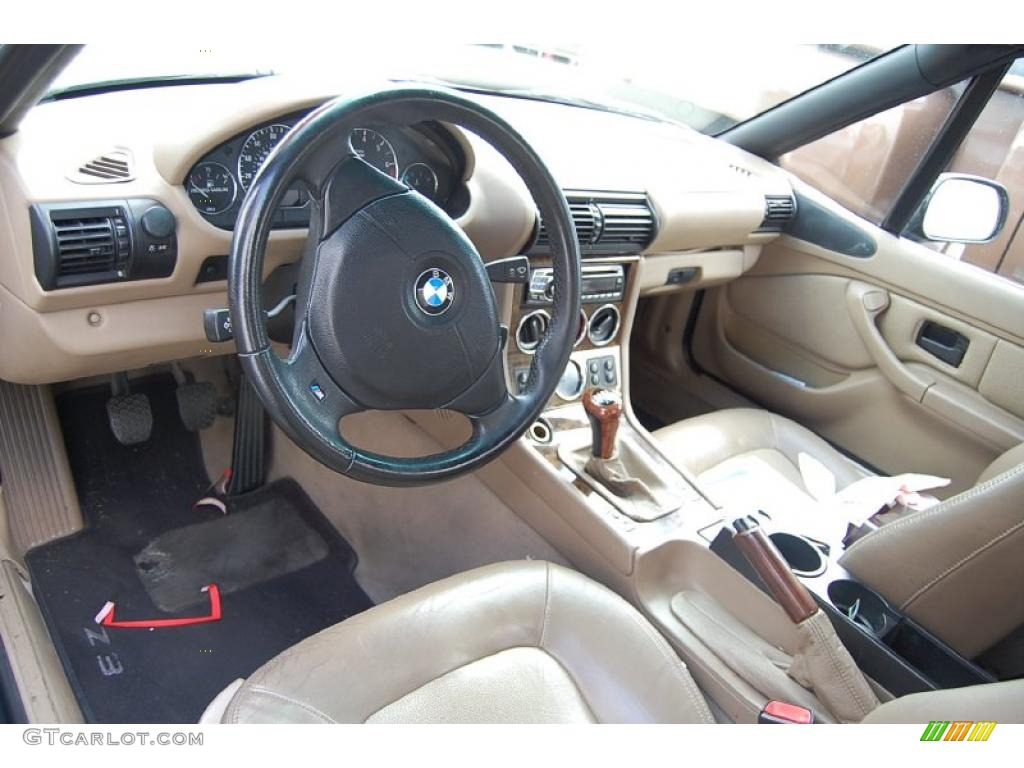 Beige Interior 2001 Bmw Z3 2 5i Roadster Photo 45555549 Gtcarlot Com