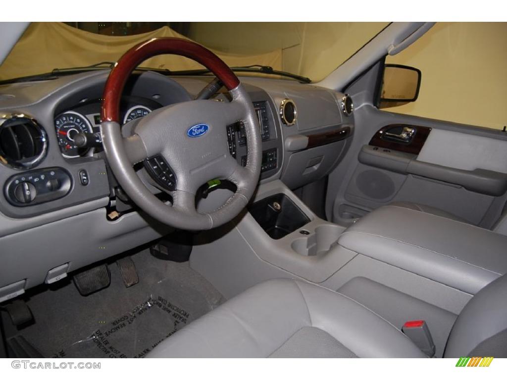 Medium Flint Grey Interior 2006 Ford Expedition Limited Photo 45557613