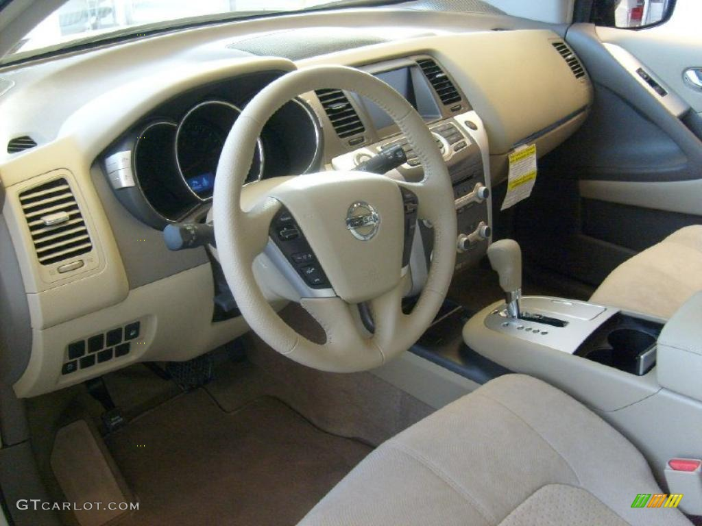 Beige Interior 2011 Nissan Murano Sv Awd Photo 45569539