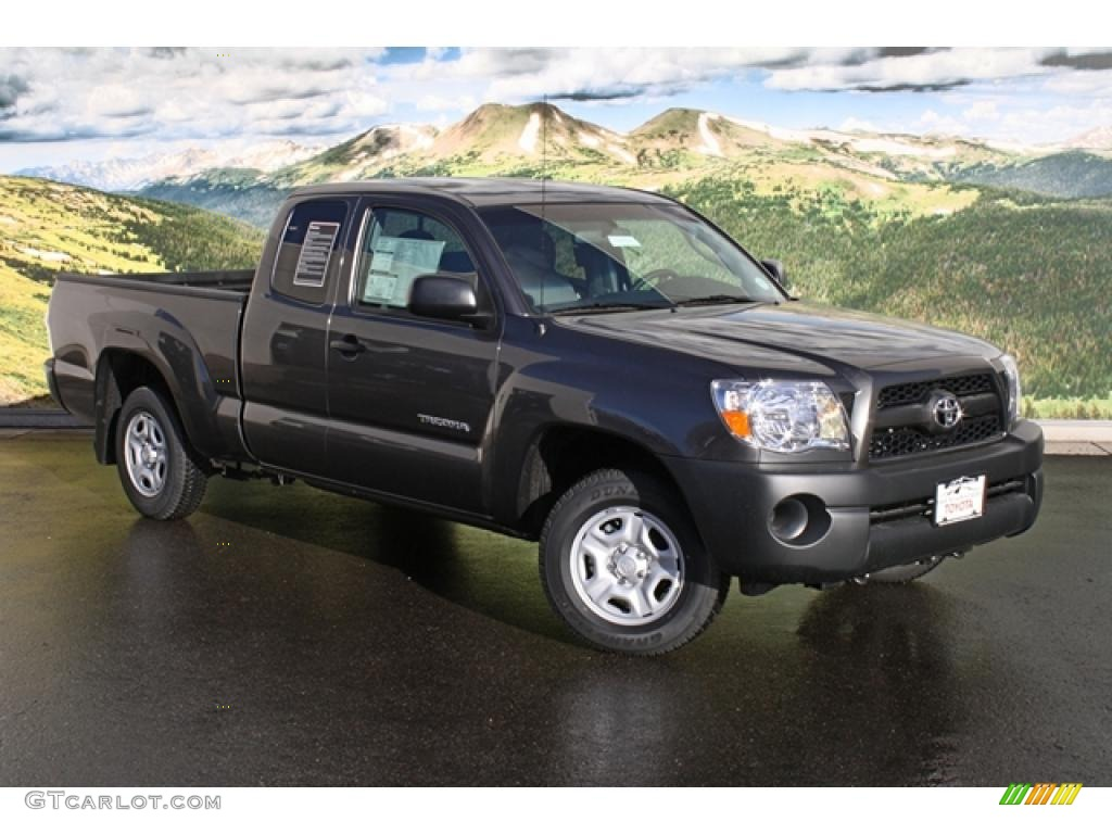 2011 magnetic gray metallic toyota tacoma access cab 45559741 car color galleries. Black Bedroom Furniture Sets. Home Design Ideas