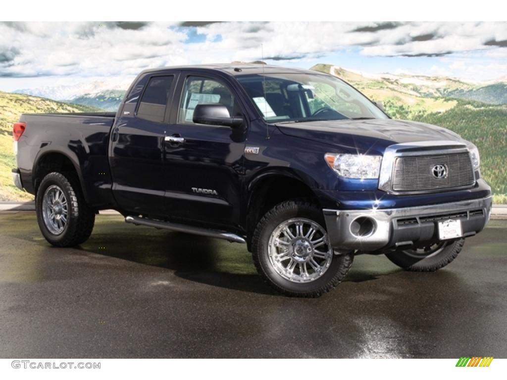Nautical blue toyota tundra